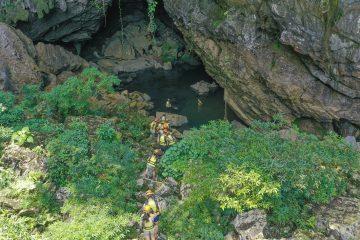 Tra Ang cave tour
